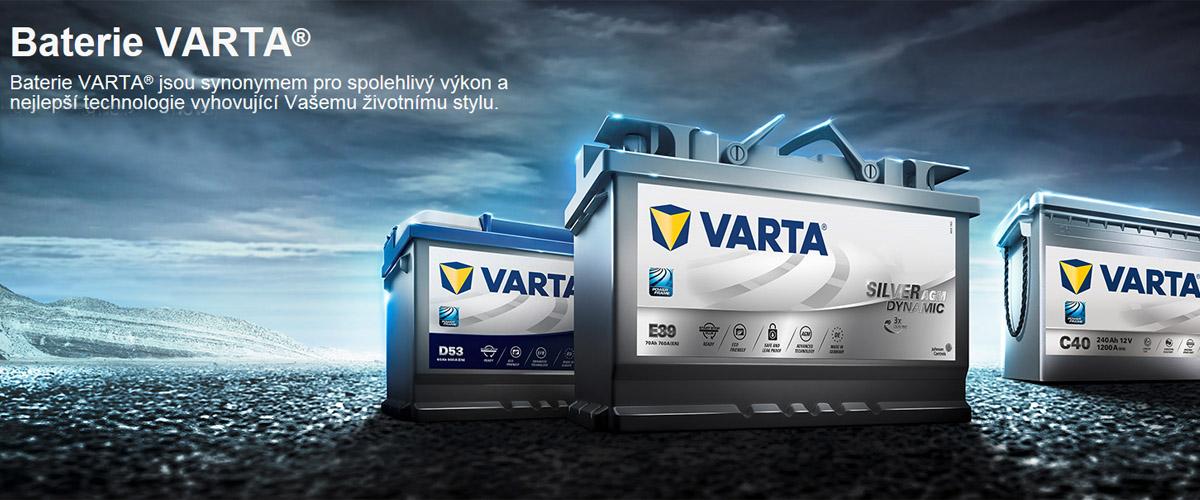 Když baterie, tak VARTA!